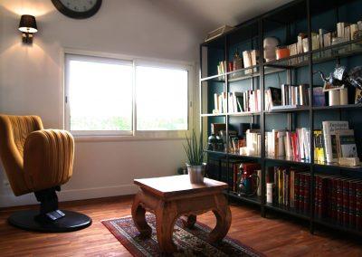 Hauts Jullouville - Vue générale, espace bibliothèque